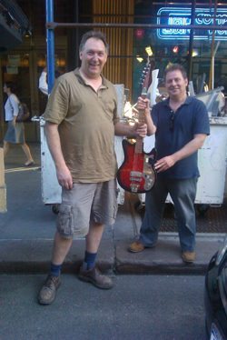 The $100 Guitar, Bill Brovold and Mark Solomon