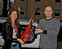 The $100 Guitar, Barry Cleveland  Hillary Fielding