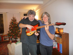 The $100 Guitar, Larry Polansky and Nick Didkovsky by Wendy Roberts