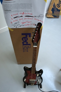 The $100 Guitar, Time Canvas, Antwerp, Belgium